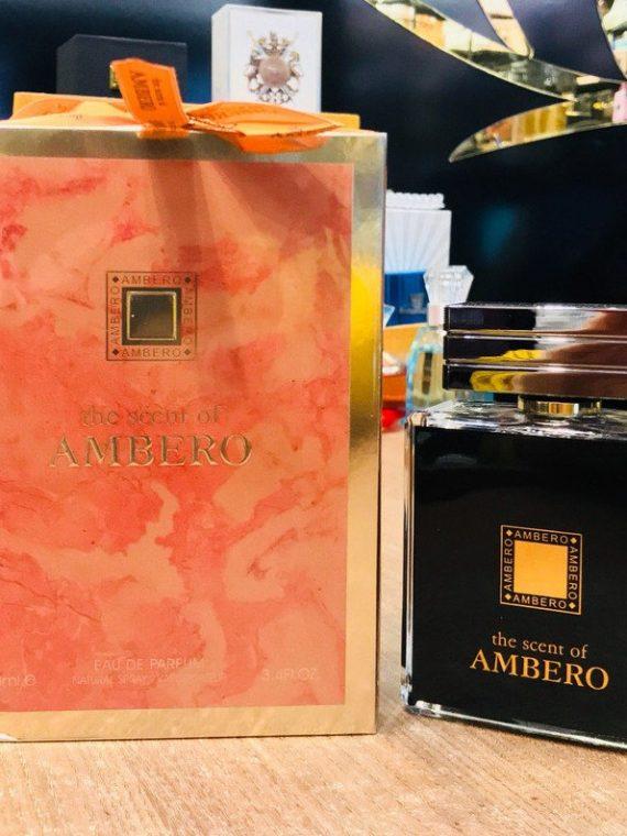 Fragrance World The Scent OF Ambero فرگرانس د اسکنت اف آمبرو