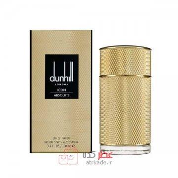 عطر ادکلن مردانه آلفرد دانهيل ايکون آبسلوت حجم 100 عطر dunhill icon absolute eau de parfum