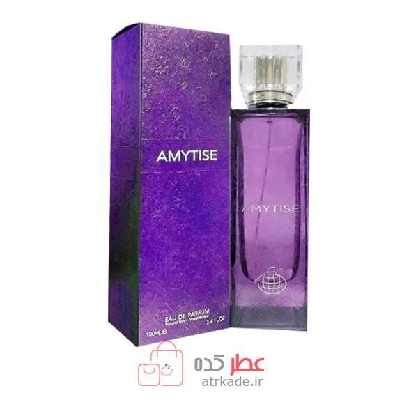 ادو پرفیوم فراگرنس ورد مدل آمیتیس 100 میل Fragrance World Amytise 100 ml