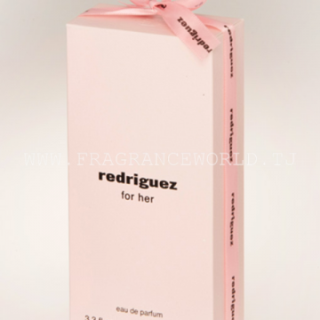 Fragrance World REDRIGUEZ FOR HER PINK فرگرانس وورد ردرگوز فور هر پینک