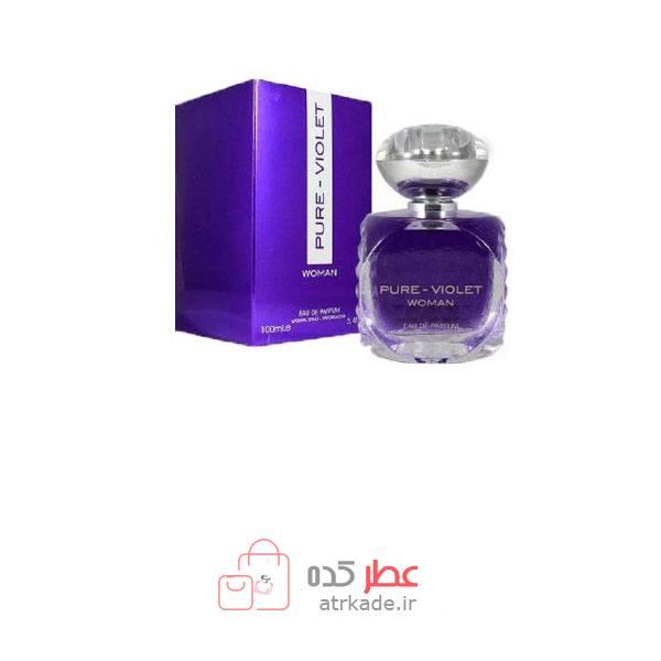 فراگرنس ورد پیور ویولت 100 میل- Fragrance World pure Violet