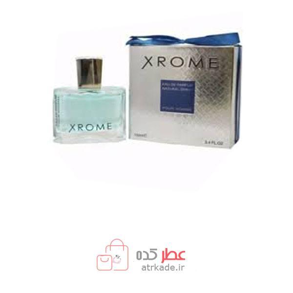 ادو پرفیوم فراگرنس ورد ایکس روم 100 میل fragrance World Xrome Eau de parfum