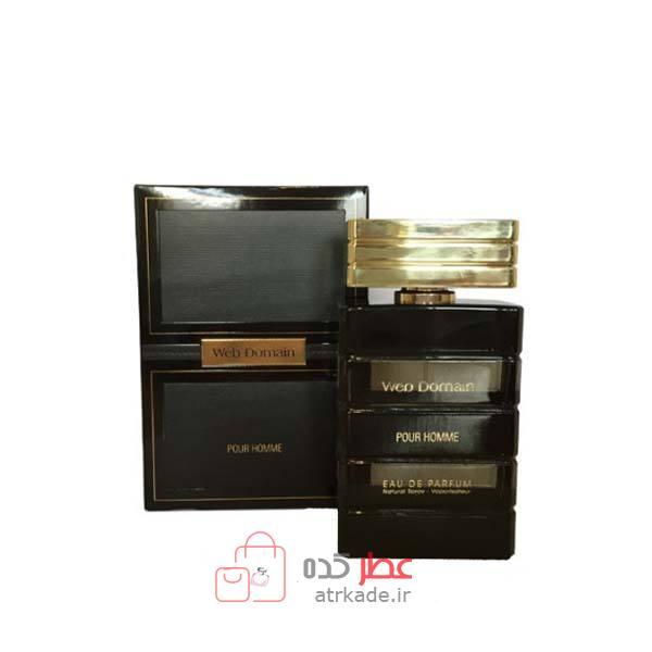 عطر ادکلن فراگرنس ورد وب دامین پور هوم ادو پرفیوم 100 میل Fragrance World web domain pour homme eau de parfum 100ml