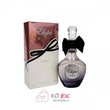 عطر ادکلن فراگرنس ورد الوپ لا روزا ادو پرفیوم 100 میل Fragrance World elope la rose eau de parfum 100ml