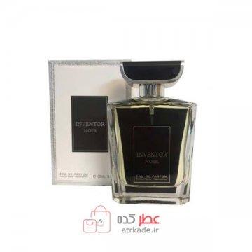عطر ادکلن فراگرنس ورد اینونتور نویر ادو پرفیوم 100 میل Fragrance World inventor noir eau de parfum 100ml