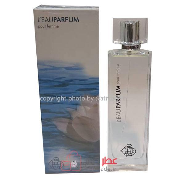 فراگرنس ورد ل ای پرفوم پور فمه 100 میل Fragrance World l'eau parfum pour femme 100ml