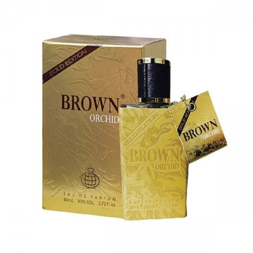 fragrance world BROWN ORCHID gold edition براون اورکید گلد ادیشن