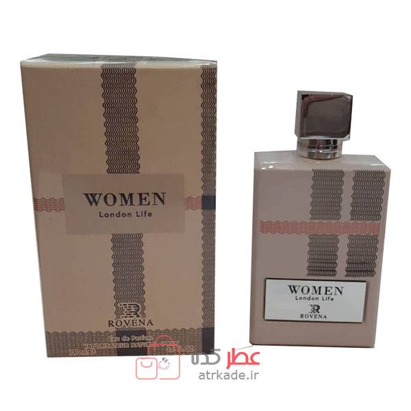 Rovena London Life  Eau De Parfum   100ml روونا لندن لایف ادو پرفیوم   100 میل