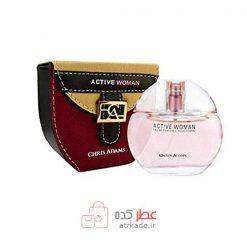 Chris Adams Active Woman Eau De Parfum 80ml کریس آدامز اکتیو وومن ادو پرفیوم 80 میل