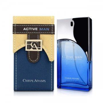 Chris Adams Active Man Eau De Parfum 80ml کریس آدامز اکتیو من ادو پرفیوم 80 میل