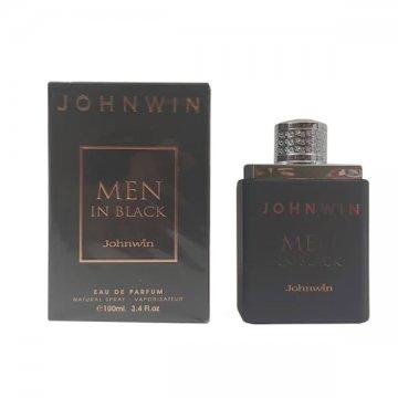عطر ادکلن جانوین من این بلک ادو پرفیوم 100 میل Johnwin Men In Black Eau De Parfum 100ml
