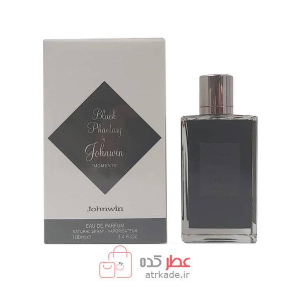 عطر ادکلن جانوین بلک فانتزی بای جانوین ادو پرفیوم 100 میل Johnwin black Fhantasy By johnwin Eau De Parfum 100ml