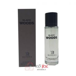 ادو پرفیوم روونا Rovena black Woods حجم 30 میل