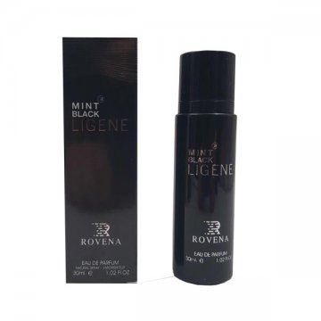 ادکلن روونا Rovena Mint Black Ligene حجم 30 میل