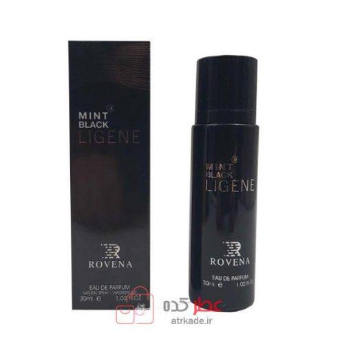 ادکلن روونا Rovena Mint Black Ligene حجم 30 میل