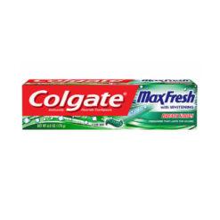 خمیر دندان کولگیت سبز colgate max fresh حجم 100 میل