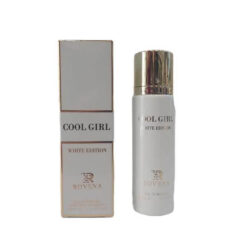 عطر ادکلن روونا Rovena Gool Girl White Edition حجم 30 میل ( گود گرل سفید )
